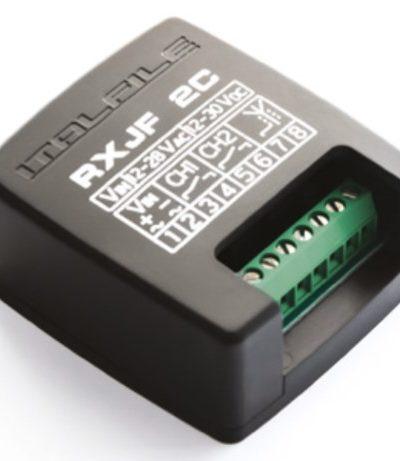 MySESAM RXJR2C, Funkempfänger kann nur mit speziellen nicht kopierbaren Handsender verwendet werden.