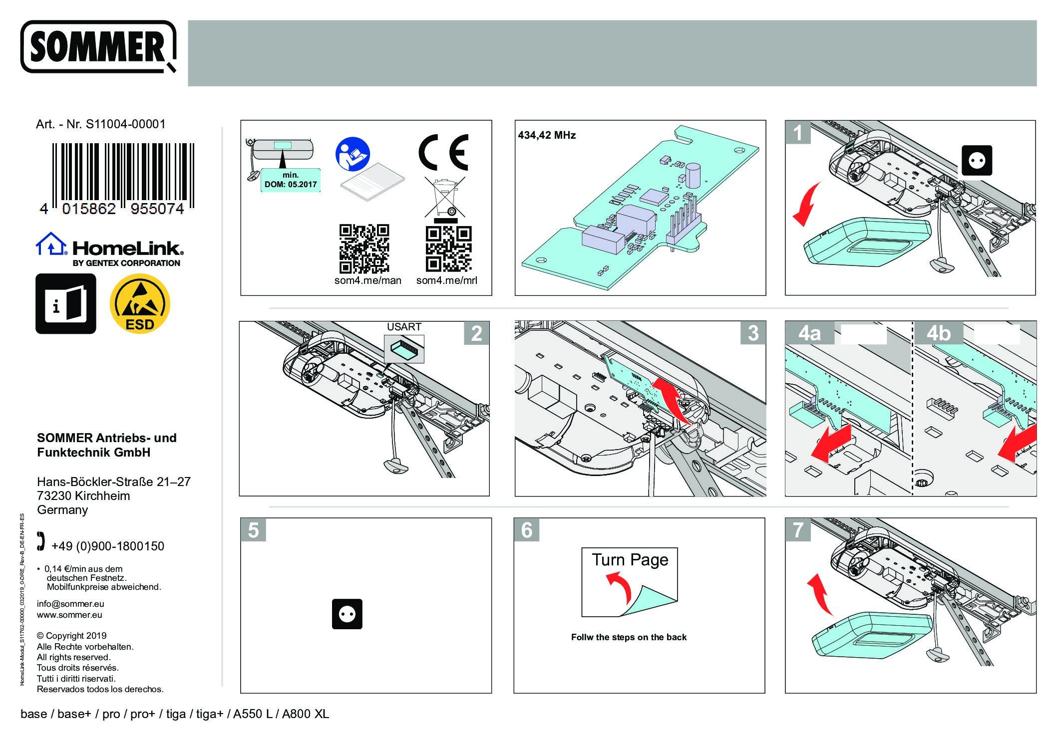 Homelink Modul S11762 000001 pdf